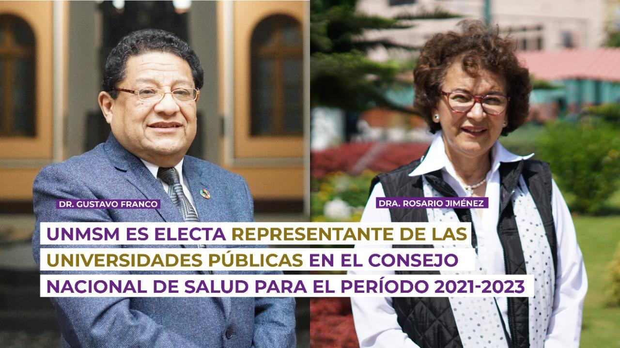 UNMSM es electa representante de las universidades públicas en el Consejo Nacional de Salud para el período 2021-2023