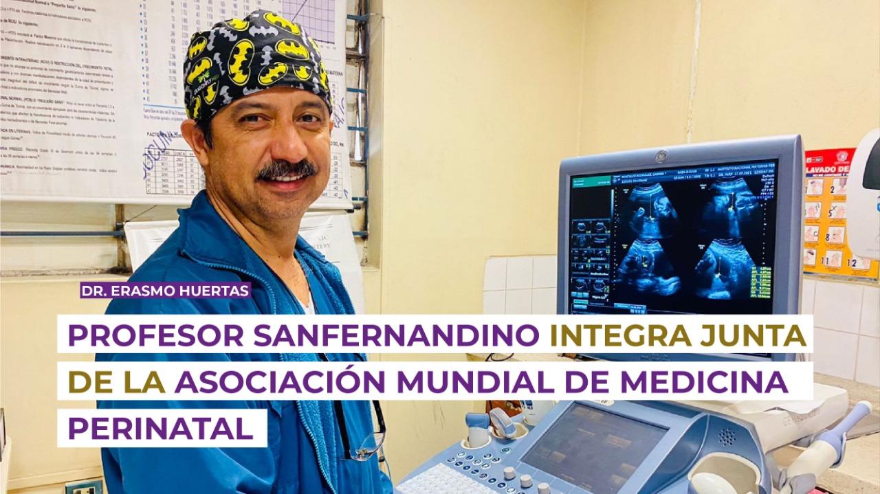 Profesor sanfernandino integra junta de la Asociación Mundial de Medicina Perinatal