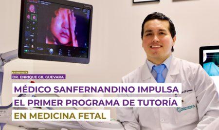 Médico sanfernandino impulsa el primer programa de Tutoría en Medicina Fetal